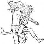 抱き合ってねむる