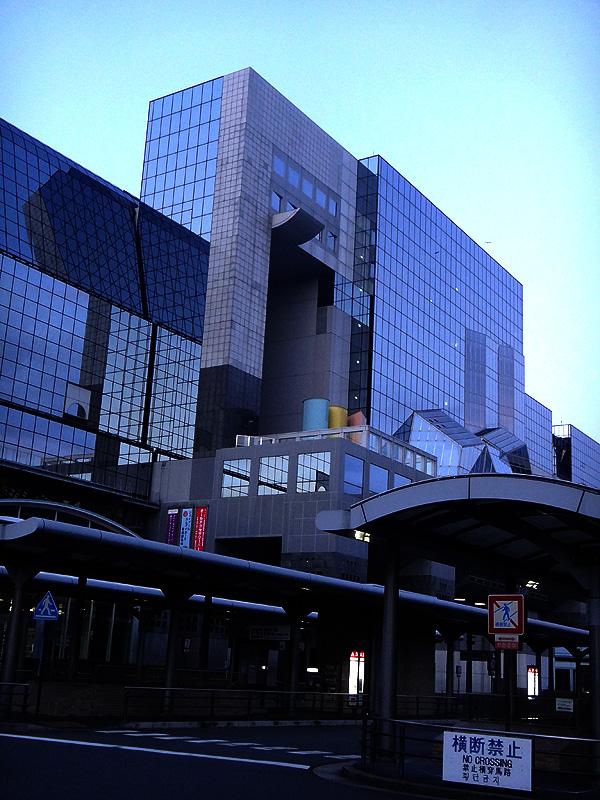 明け方の京都駅